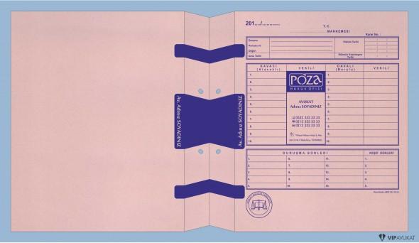 Avukat Adliye Dosyası AD500A