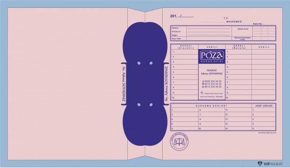 Avukat Adliye Dosyası AD502PB