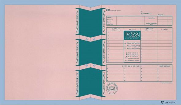 Avukat Adliye Dosyası AD506A