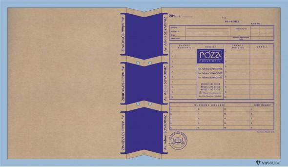 Avukat Adliye Dosyası AD506K