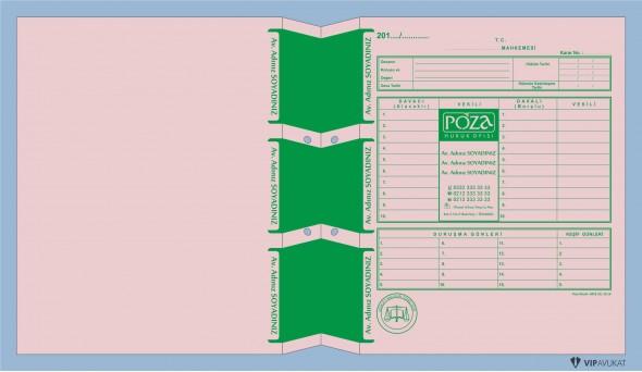 Avukat Adliye Dosyası AD506PB
