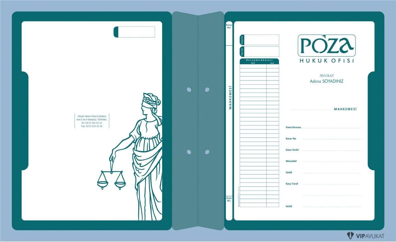Avukat Büro Dosyası AD606