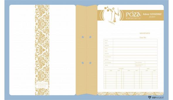 Avukat Büro Dosyası AD627