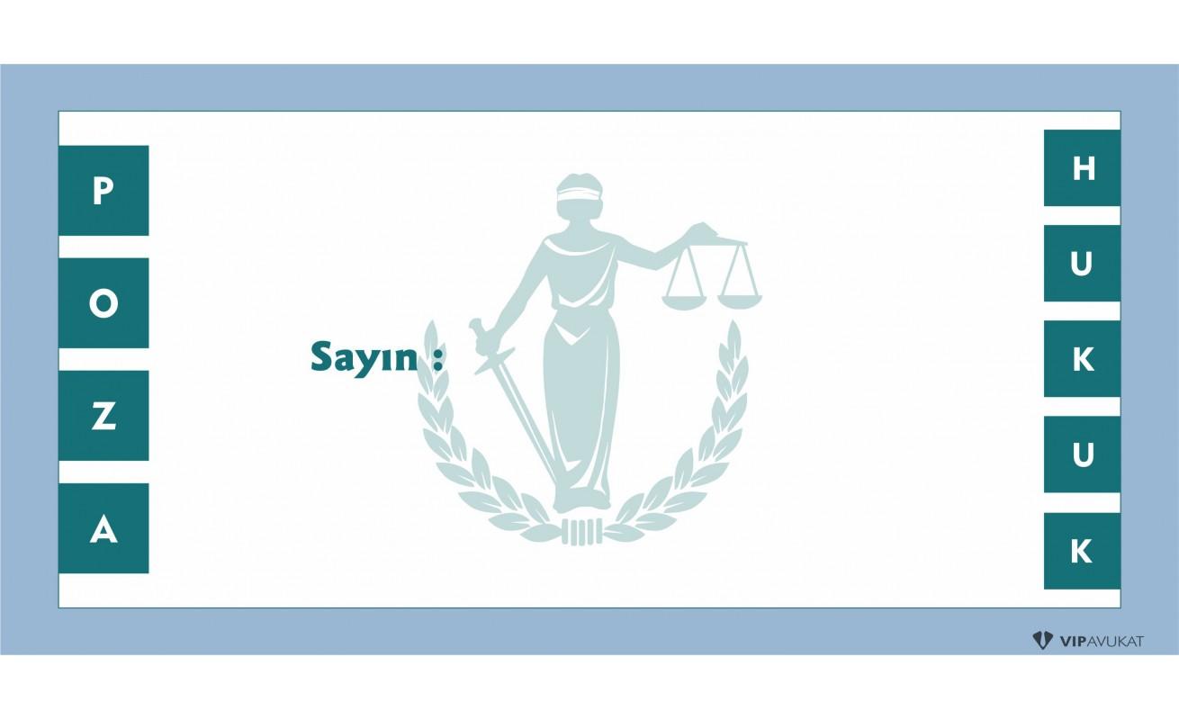 Avukat - Hukuk Bürosu Diplomat Zarf ZRF802