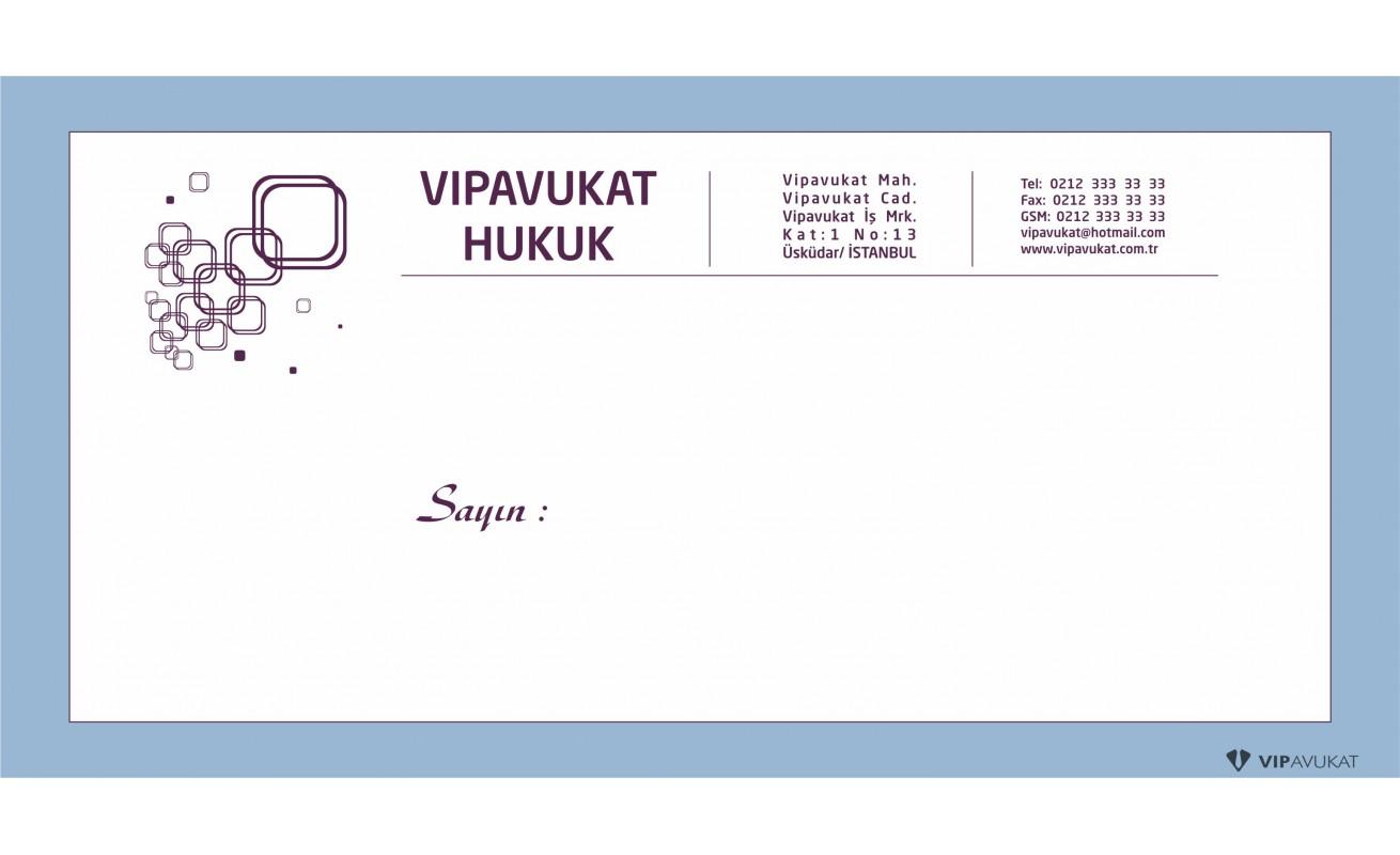 Avukat - Hukuk Bürosu Diplomat Zarf ZRF806