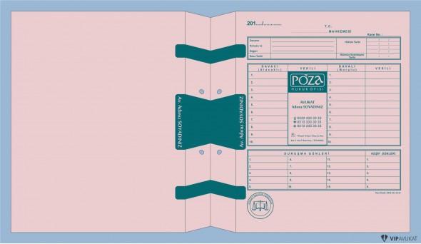 Avukat Adliye Dosyası AD500PB