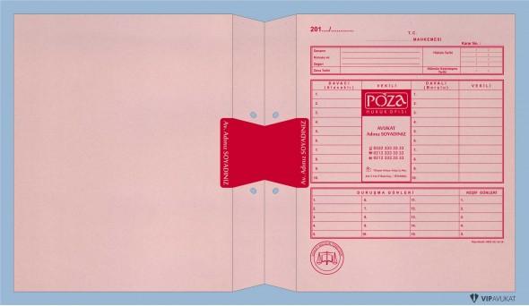 Avukat Adliye Dosyası AD501A