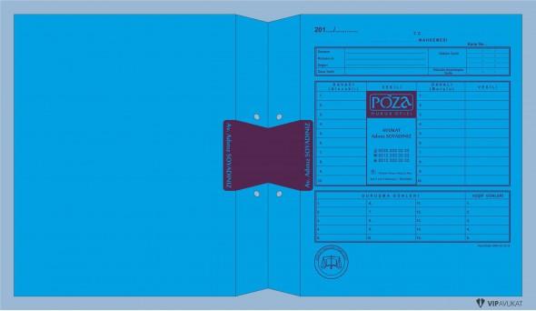Avukat Adliye Dosyası AD501CB