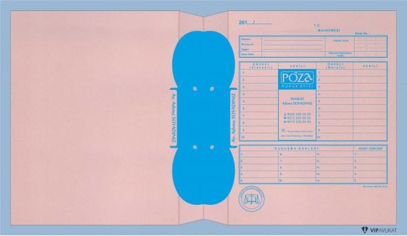 Avukat Adliye Dosyası AD502A