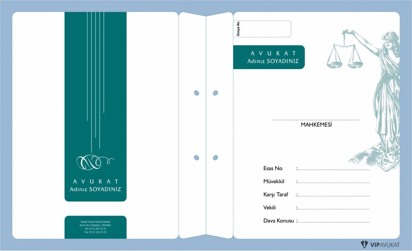 Avukat Büro Dosyası AD600