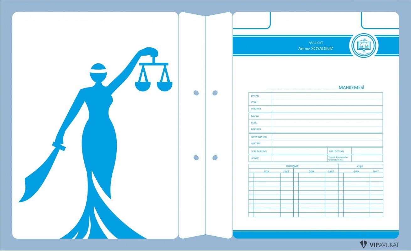 Avukat Büro Dosyası AD608