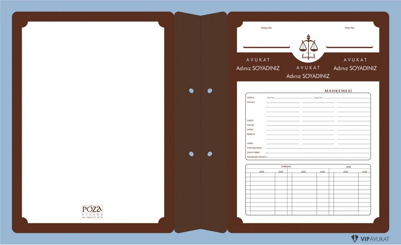 Avukat Büro Dosyası AD612