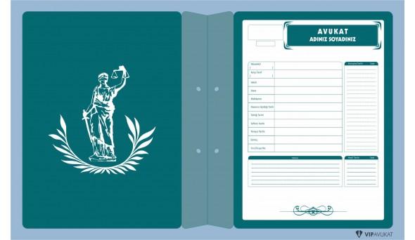 Avukat Büro Dosyası AD620