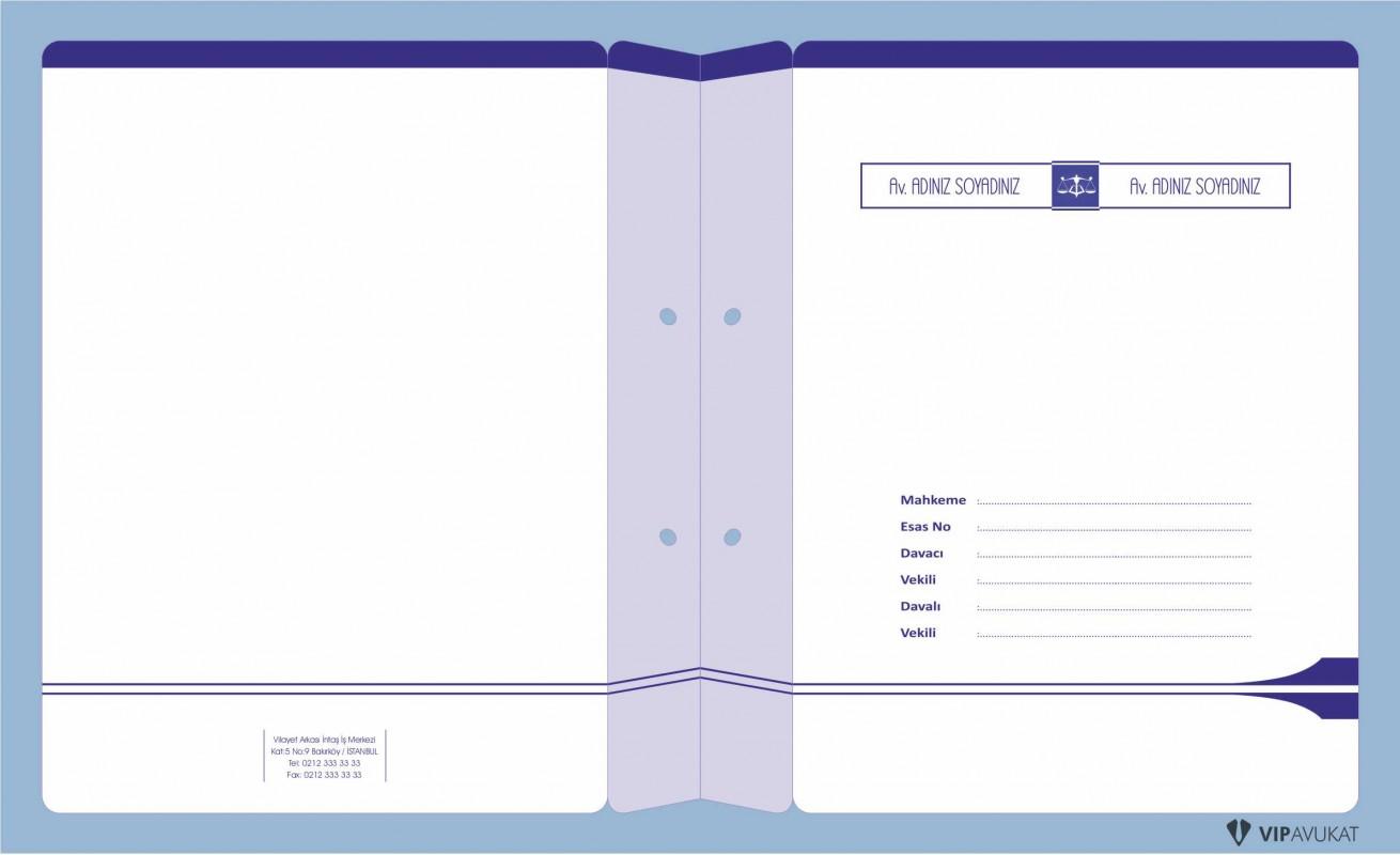 Avukat Büro Dosyası AD630