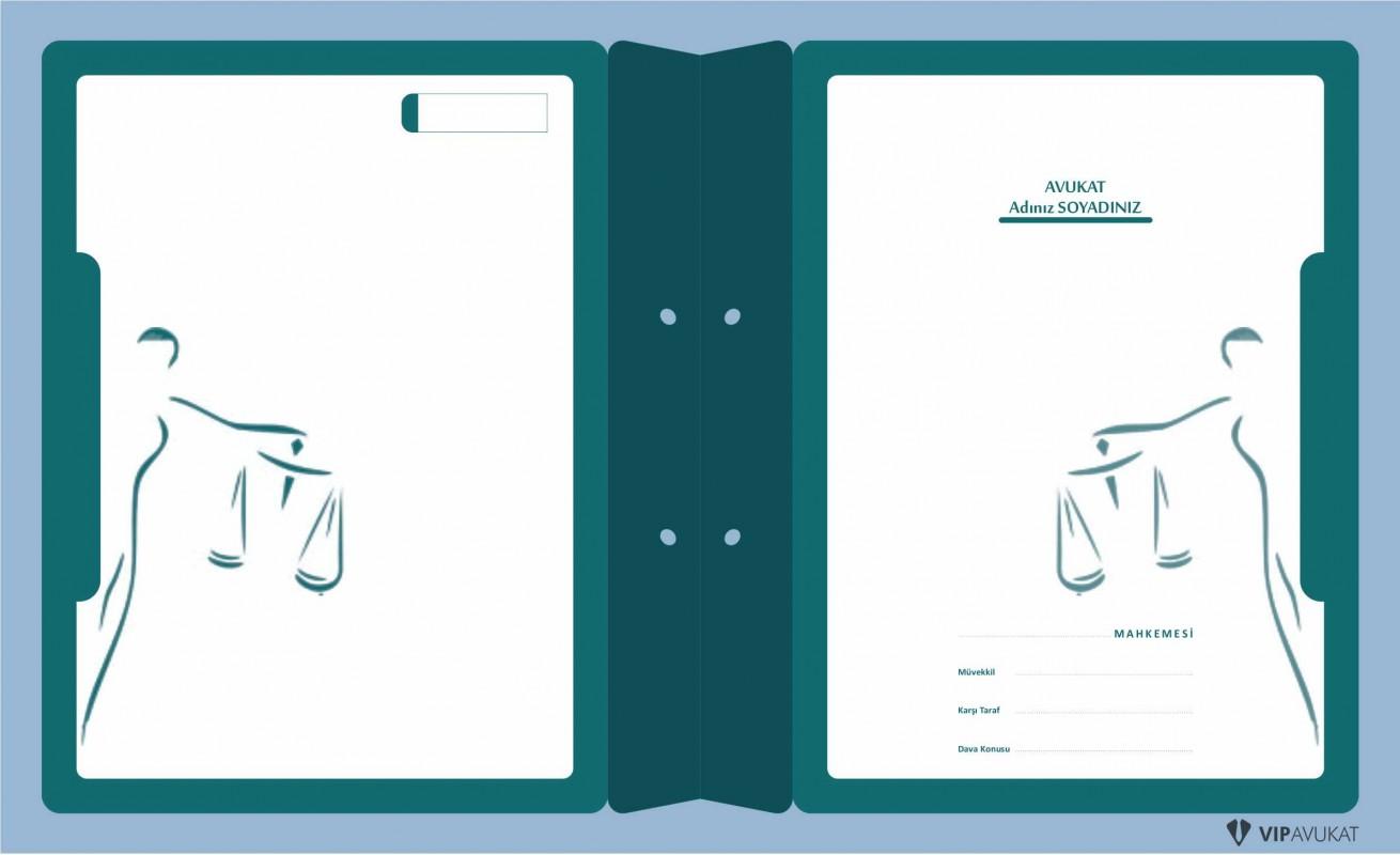 Avukat Büro Dosyası AD634