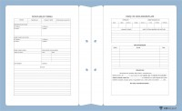 Avukat Büro Dosyası AD631 - İki Renk